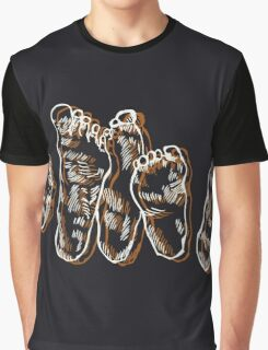 Family of Feet Graphic T-Shirt