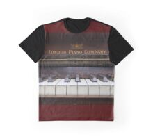 My Old Piano Graphic T-Shirt