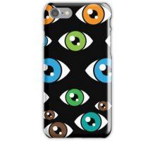 Eyes pattern iPhone Case/Skin