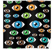 Eyes pattern Poster