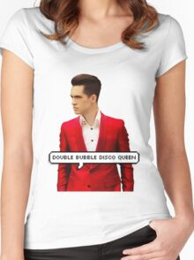 BRENDON URIE TUMBLR Women's Fitted Scoop T-Shirt