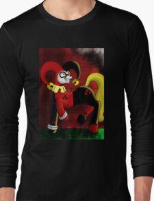 Harley Quinn Pony Long Sleeve T-Shirt