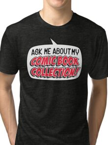 COMIC BOOKS! Tri-blend T-Shirt