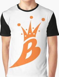 Lil' Kim The Queen Bee Collection Logo - Orange  Edition Graphic T-Shirt