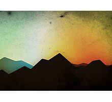 Mountaintops Photographic Print