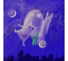 ghostly friends Photographic Print