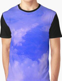Aerial Blue Hues III  Graphic T-Shirt
