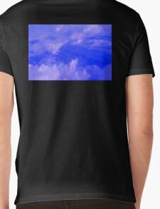 Aerial Blue Hues III  Mens V-Neck T-Shirt