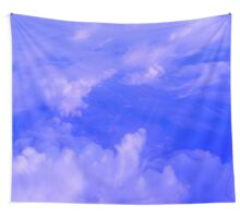Aerial Blue Hues III  Wall Tapestry