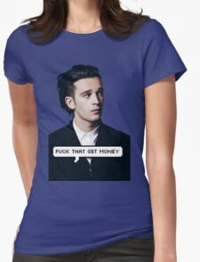 MATT HEALY TUMBLR Womens Fitted T-Shirt