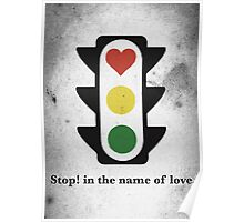 Stop! in the name of love. Poster