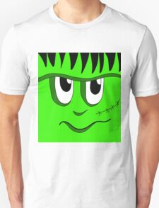 Halloween - green Frankenstein  Unisex T-Shirt
