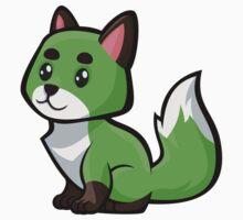 Baby Fox -Lime One Piece - Long Sleeve