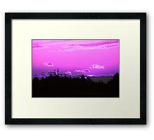 Pink Sunrise Framed Print