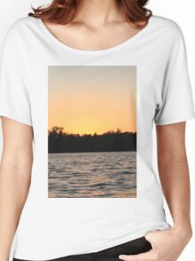 Evening Night Sunset  Women's Relaxed Fit T-Shirt