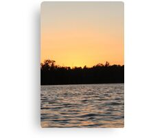 Evening Night Sunset  Canvas Print