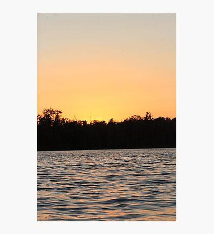 Evening Night Sunset  Photographic Print