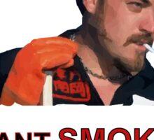 I Want Smokes (transperent background) Sticker