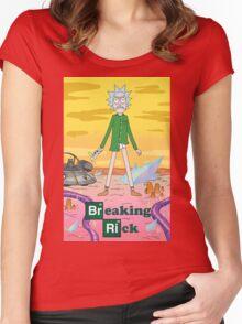 Breaking Rick Parody Women's Fitted Scoop T-Shirt