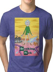 Breaking Rick Parody Tri-blend T-Shirt