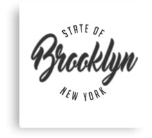 Brooklyn, New York Canvas Print