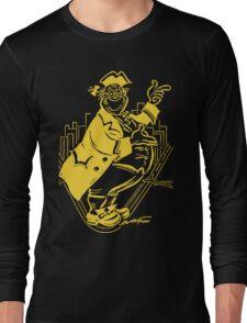 """Pa Pitt"" Black and Gold Long Sleeve T-Shirt"