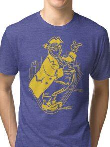 """""""Pa Pitt"""" Black and Gold Tri-blend T-Shirt"""