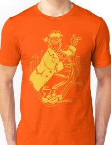 """Pa Pitt"" Black and Gold Unisex T-Shirt"