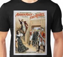 Performing Arts Posters The singing comedian Andrew Mack in his new play The rebel a drama of the Irish rebellion by James B Fagen 1336 Unisex T-Shirt