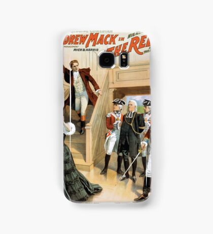 Performing Arts Posters The singing comedian Andrew Mack in his new play The rebel a drama of the Irish rebellion by James B Fagen 1336 Samsung Galaxy Case/Skin