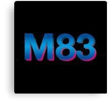 m 83 logo Canvas Print