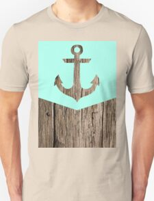 Wood and anchor Unisex T-Shirt