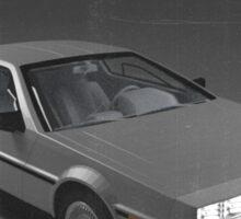 80s DeLorean advertisement  Sticker