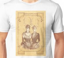 Sisters Emmaline And Cornelia Always Wore The Biggest Hats Unisex T-Shirt