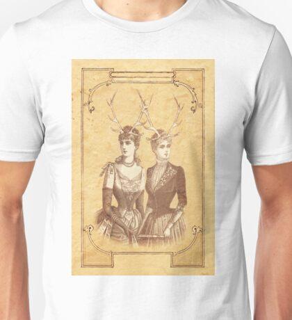 Sisters Emmaline And Cornelia Always Wore The Biggest Hats Unisex T-Shirt