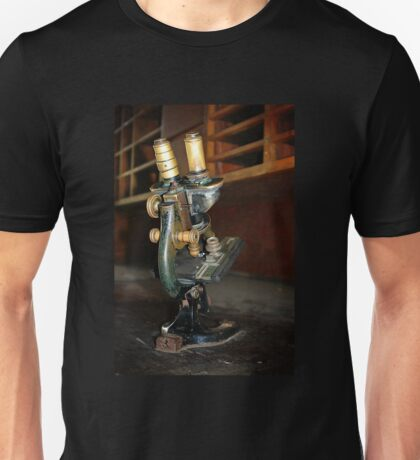 Old Microscope Unisex T-Shirt