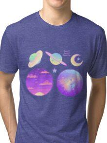 PASTEL SPACE TUMBLR  Tri-blend T-Shirt