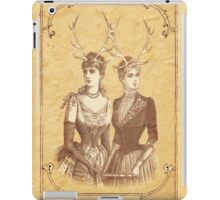 Sisters Emmaline And Cornelia Always Wore The Biggest Hats iPad Case/Skin
