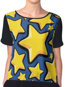 Star pattern Chiffon Top