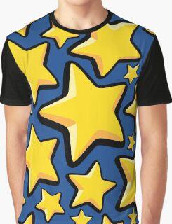 Star pattern Graphic T-Shirt