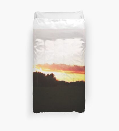 The Arm of God Duvet Cover