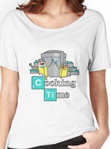 cooking time Women's Relaxed Fit T-Shirt