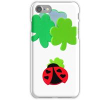 lucky Ladybugs iPhone Case/Skin