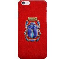 Sacred Egyptian Scarab  iPhone Case/Skin