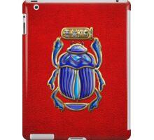 Sacred Egyptian Scarab  iPad Case/Skin