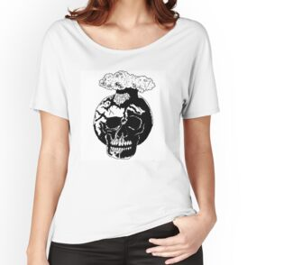 'Blow Ya Mind' Women's Relaxed Fit T-Shirt by zombicheri