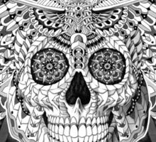Skull Moth Sticker