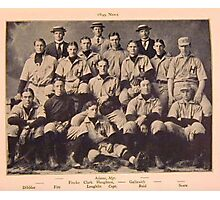 1899 Harvard Baseball Club Photographic Print