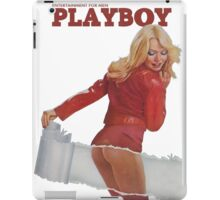 Playboy March 1975 iPad Case/Skin