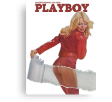 Playboy March 1975 Canvas Print